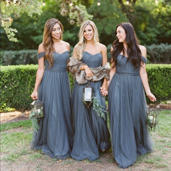 5fd71b1c4a0 ☆Revelry Bridesmaid Dress☆ Better Together Blue. M 5bfa10b78ad2f94799ba1986